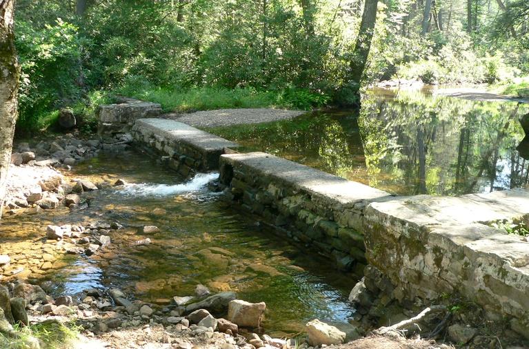 Remains of Header Dam