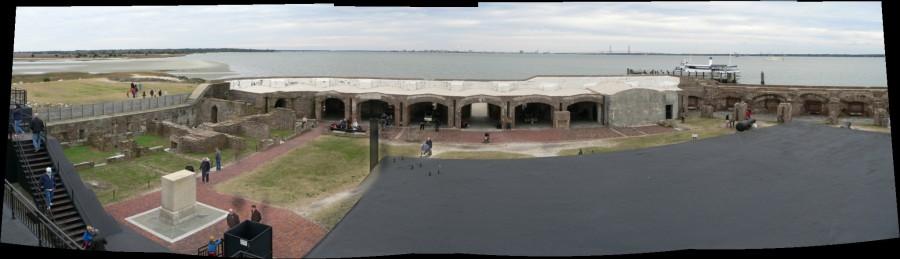 Fort Sumter National Monument / USS Yorktown, Sullivan's Island, South Carolina