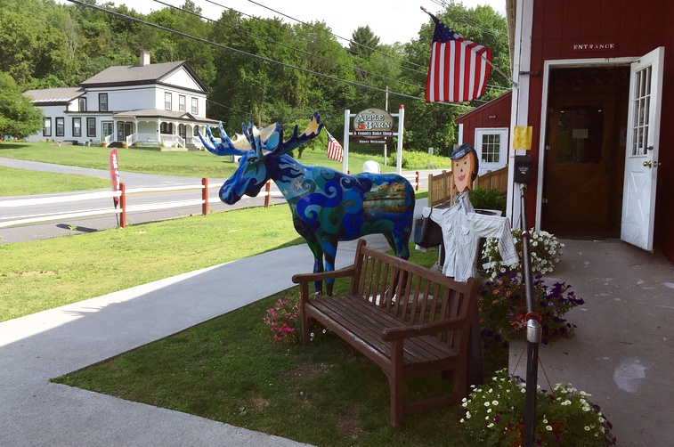 """One Of Many """"Decorations"""" For Moosefest"""