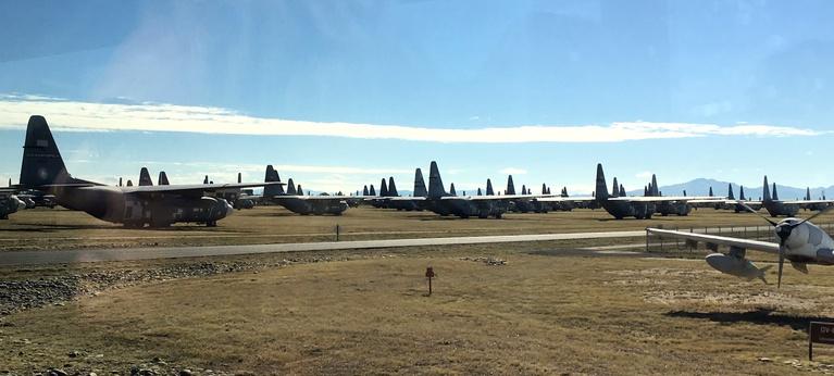 C-130's in the Boneyard