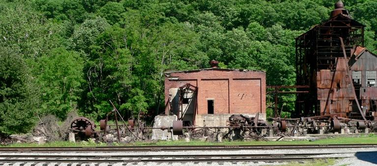 Remainder of Sawmill at Cass