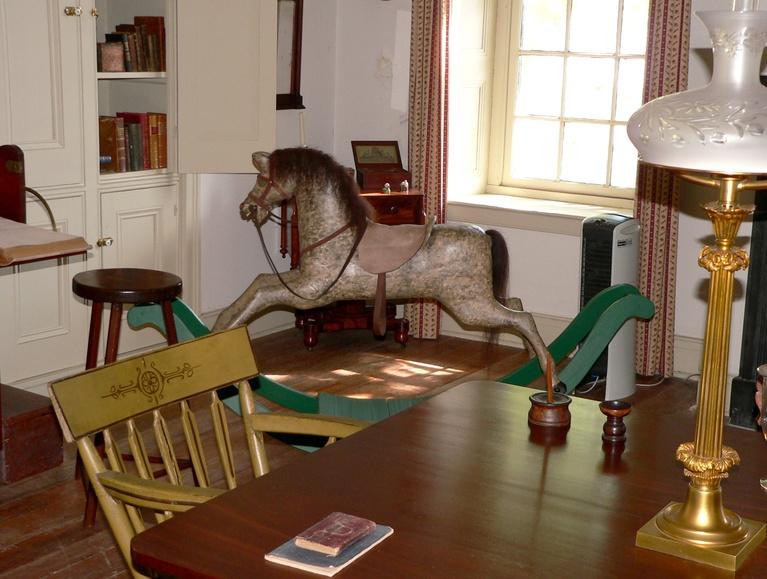 Rocking Horse in the Ironmaster's Mansion