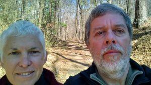 Hiking on the Natchez Trace