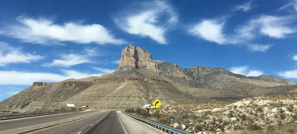 El Capitan, South of Guadalupe Mountains National Park
