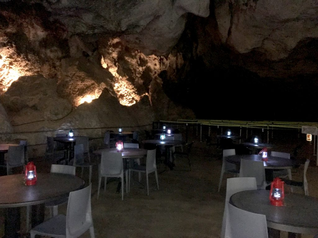 Lunch Room - 750 Feet Below the Surface