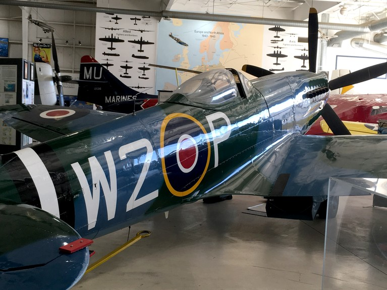 Spitfire at the Palm Springs Air Museum