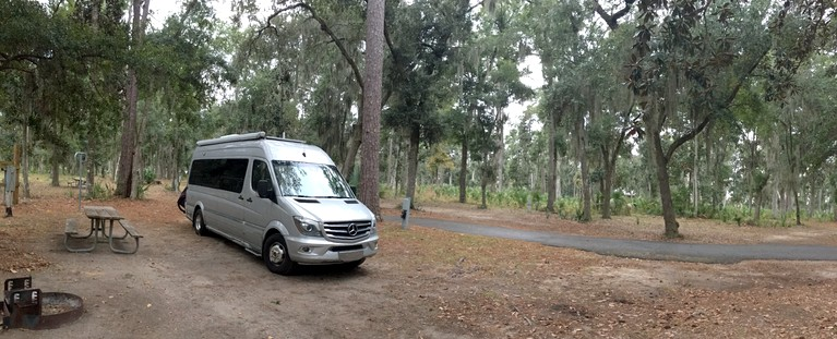 Campground at Fort McAllister