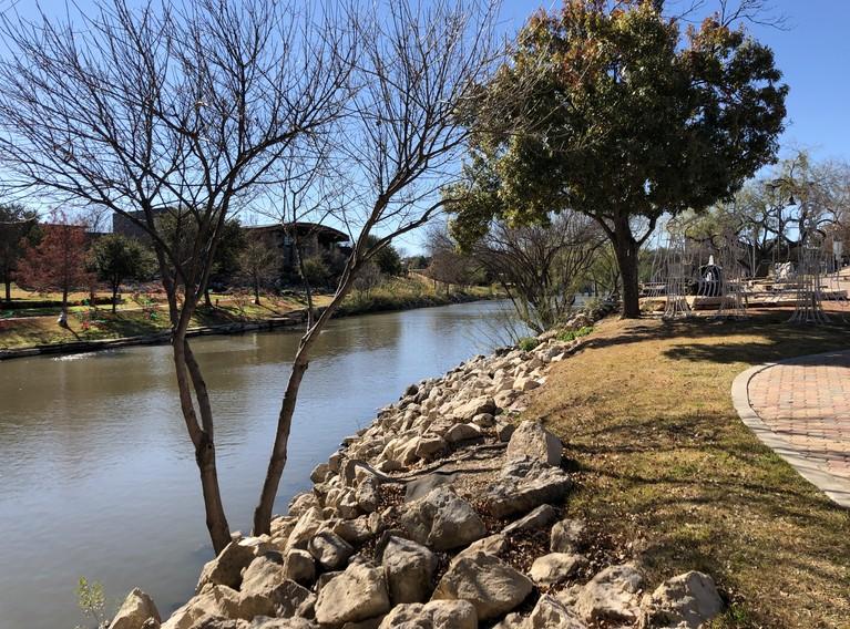 Along the San Angelo River Walk