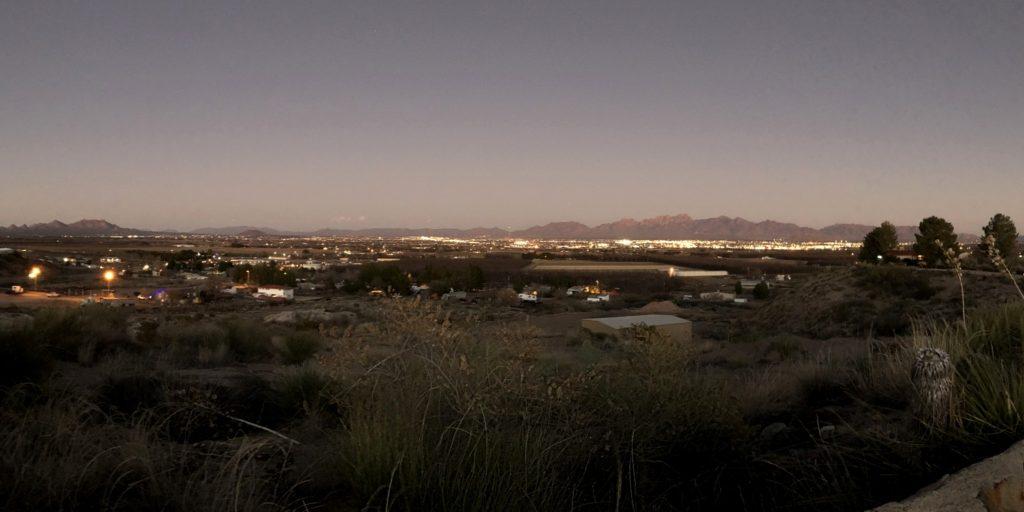City View at Dusk from KOA