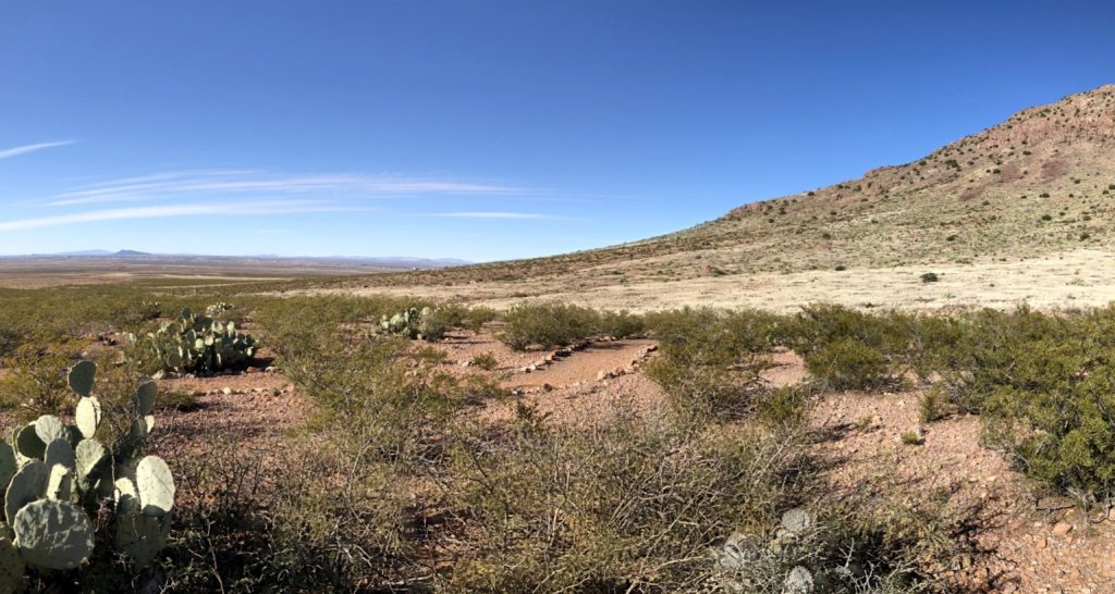 Looking West Toward Deming