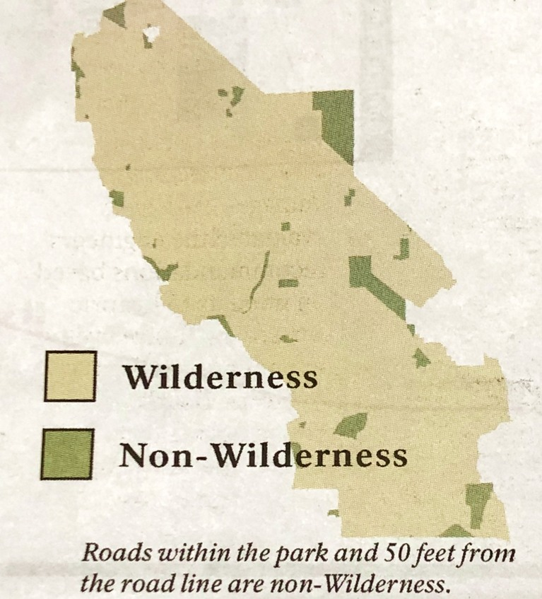 Wilderness/Non-Wilderness Areas