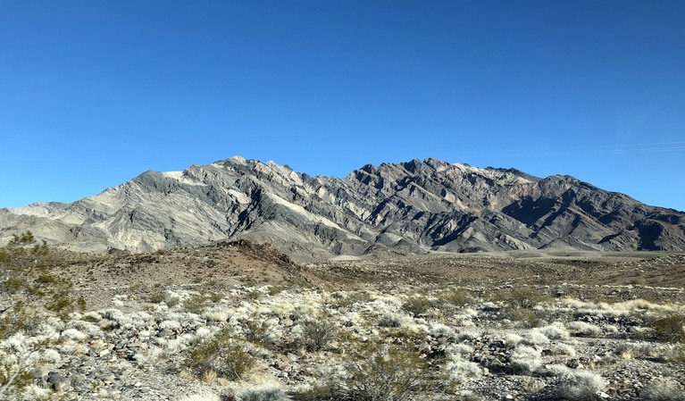 About Half Way Between Death Valley Junction and Furnace Creek