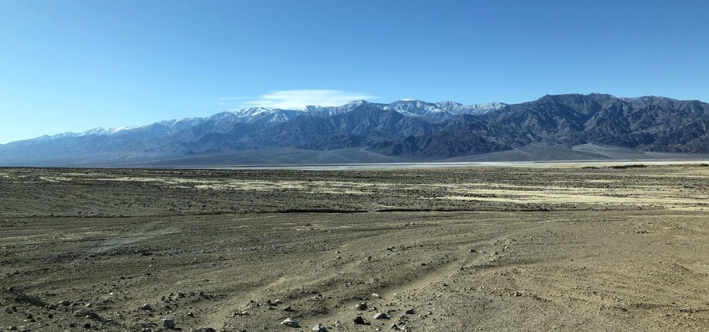 Vast Salt Flats Just South of Furnace Creek