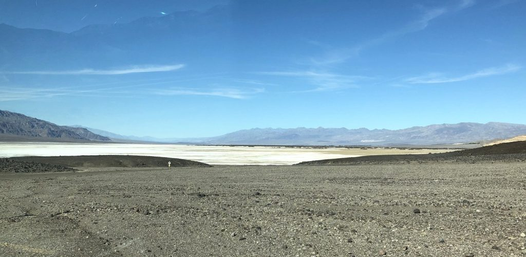 Salt Flats at the End of Artists Drive