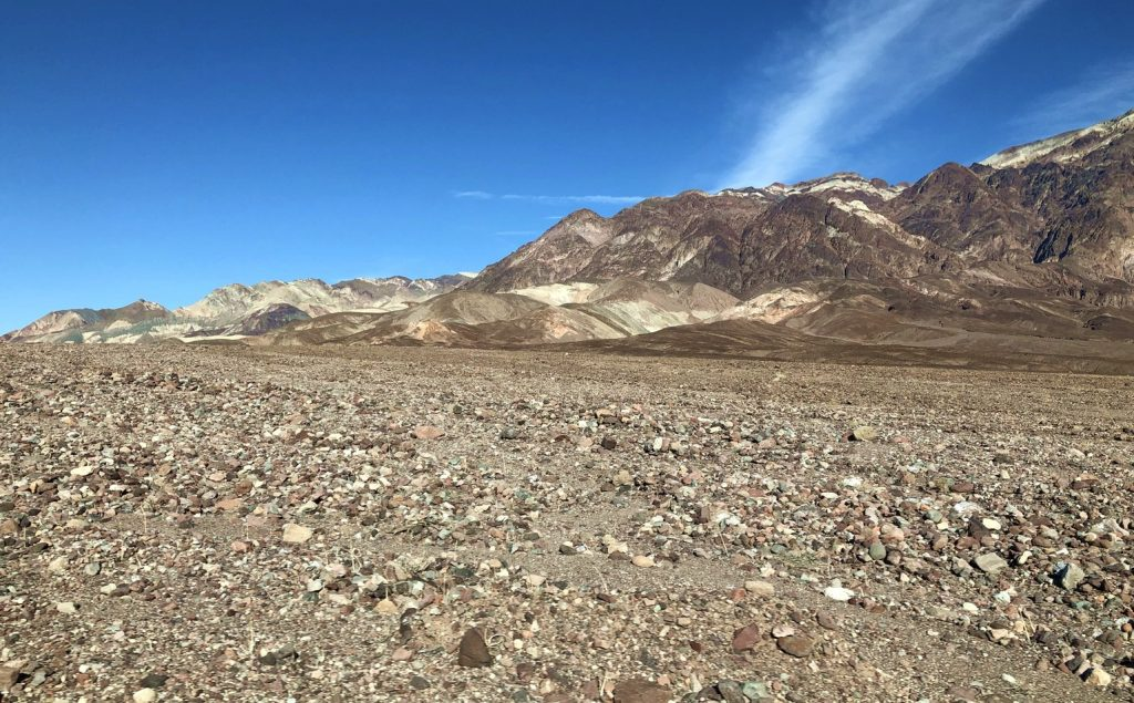 Rubble Field North of Badwater