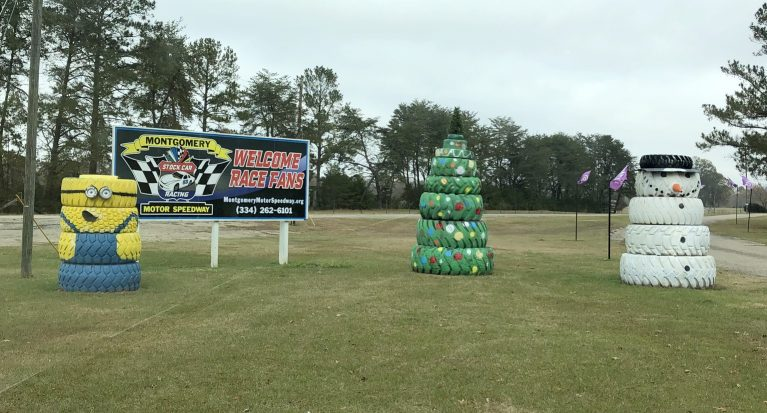 Montgomery Speedway Has Upped Their Decorations Since Our Last Visit