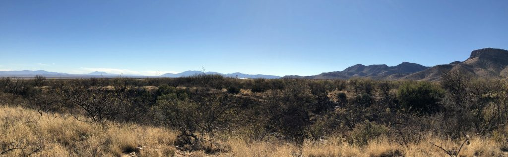 San Pedro Valley from Lower Section of Foothills Loop Trail